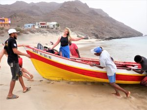Cape Verde typical boat