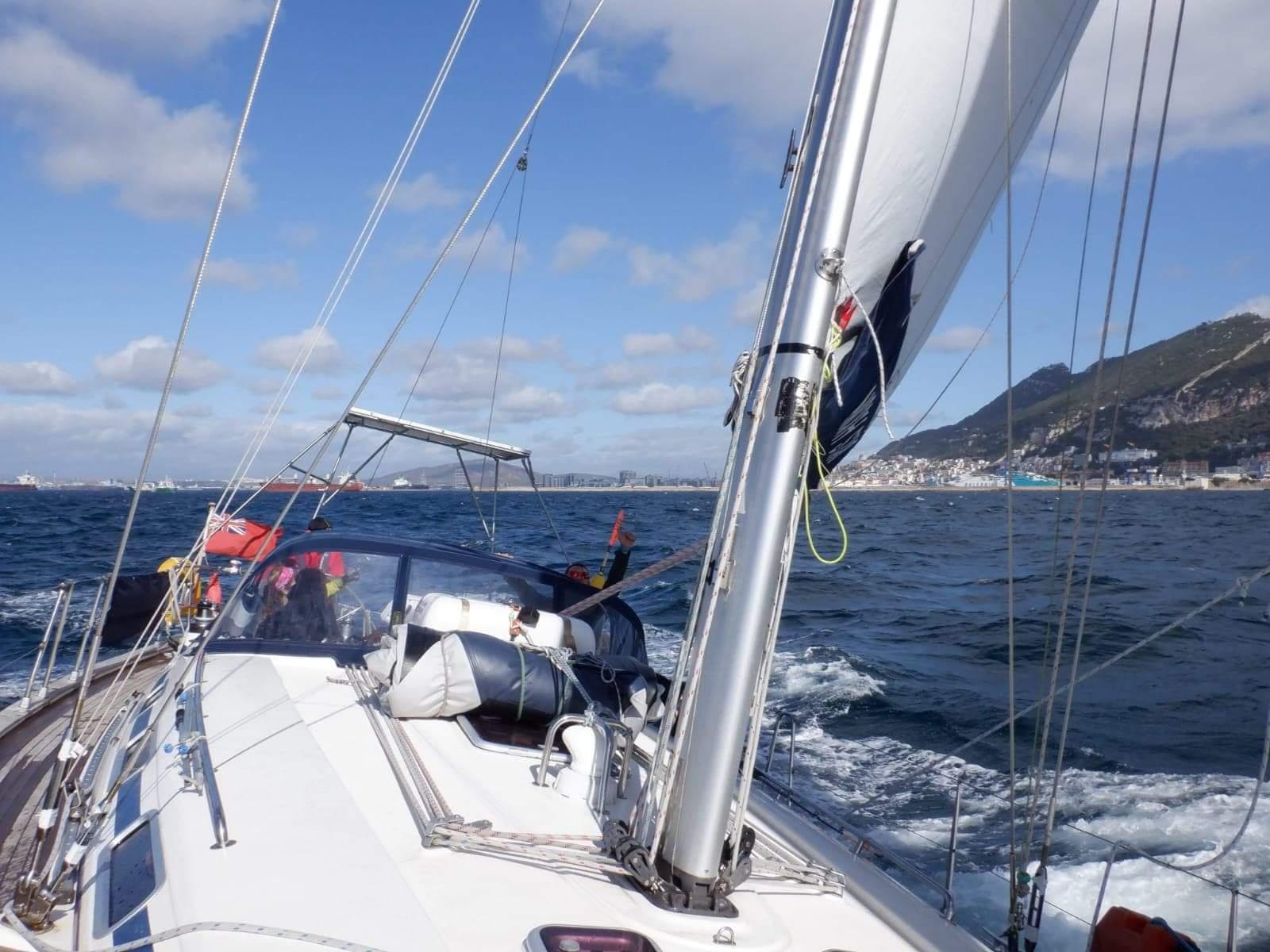 Bavaria 44 North Star on sails