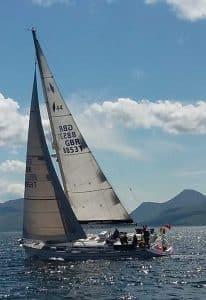 Bavaria 44 North Star sailing