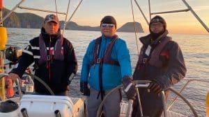 Sailors on St. Kilda