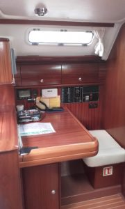 Bavaria 38 Solway Adventurer - Yacht for charter - Chart table