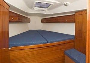 Bavaria 38 Solway Adventurer - Yacht for charter front cabin